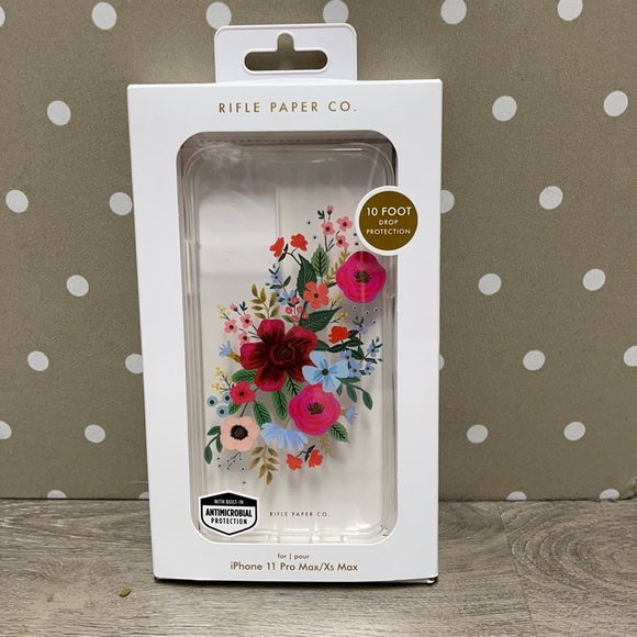 Rifle Paper iPhone 11 Pro Max/ Xs Max case NWT